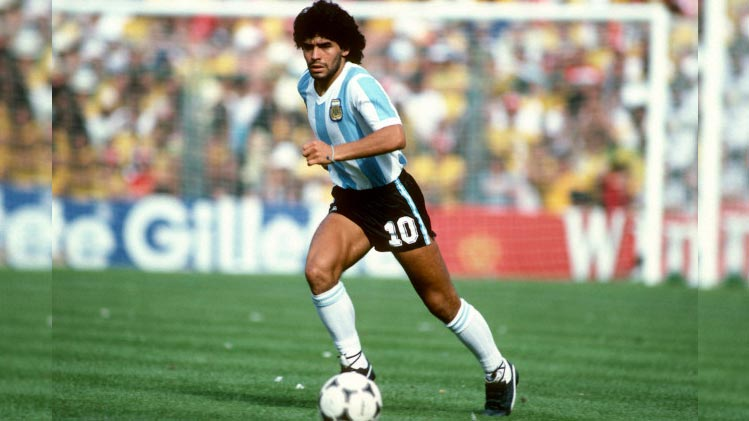 Diego Maradona - Best Soccer Player In The World