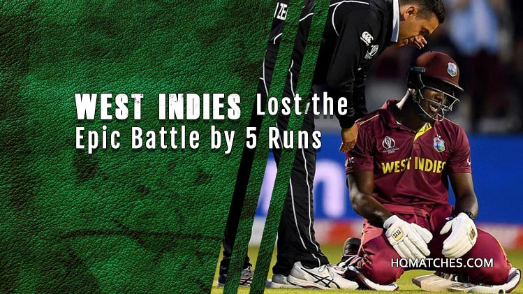 New Zealand Vs West Indies - Match Review CW19