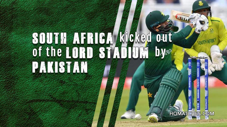 South Africa kicked out of the Lord Stadium by Pakistan - Match Review