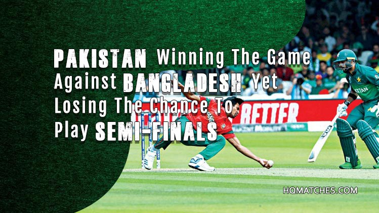 Pakistan won the match by 94 runs Against Bangladesh